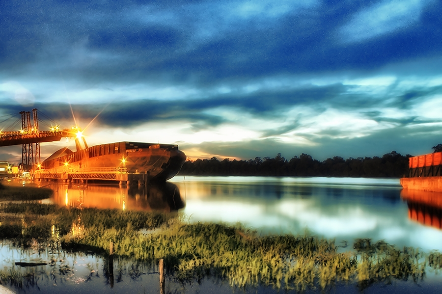 Ship by Dede TBS - Products & Objects Industrial Objects ( product, hdr, waterscape, landscape, indrustrial )