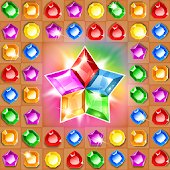 Game Treasure hunters –match-3 gems apk for kindle fire