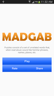 MadGab - screenshot