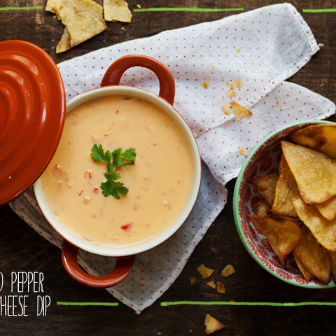 Roasted Pepper Cheese Dip