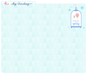 MyDarling Spring theme2 - screenshot