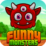 Funny Monsters- Fun Match 3 Icon
