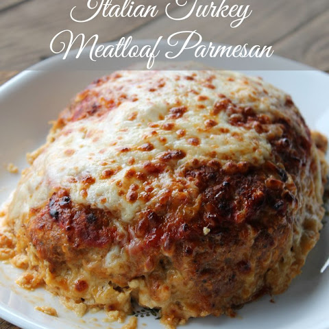 Italian Turkey Meatloaf Parmesan