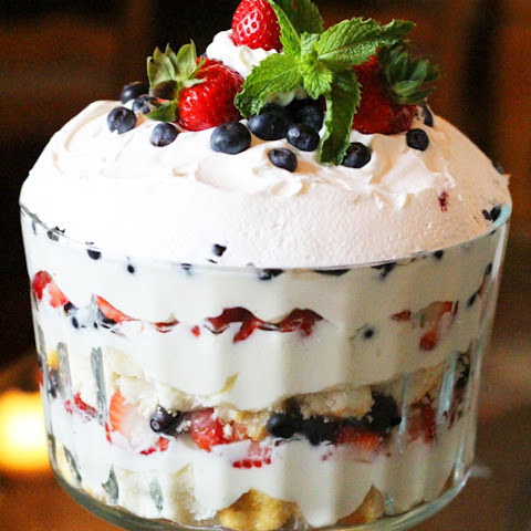 Berry Trifle With White Chocolate Cream