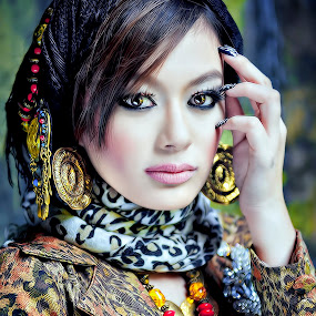 Vibrant by Maybelle Blossom Dumlao-Sevillena - People Portraits of Women
