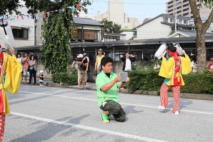 第61回よさこい祭り☆本祭2日目・梅ノ辻競演場18☆上1目1301