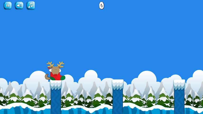 android Snowy Jump Screenshot 3