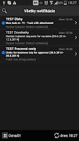 Screenshot of PosAm Denná Agenda