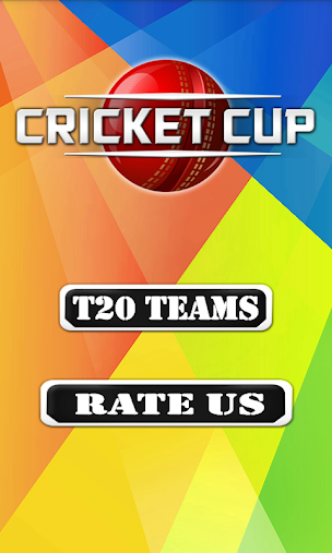 T20 Cricket Cup 2016 Fixtures APK