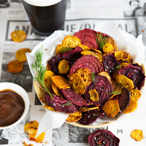 Red & Golden Beet Chips
