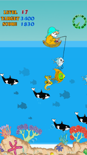 Fishing In Sea - screenshot