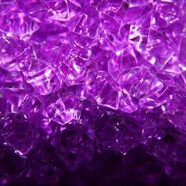 Diamond in the Rough by Amy Sauer - Abstract Macro
