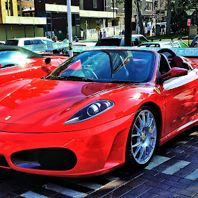 Ferrari by Ajay Sharma - Transportation Automobiles