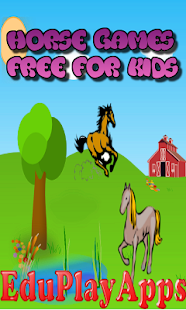 Horse Games Free For Kids - screenshot