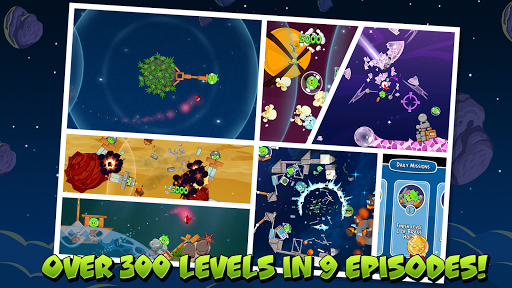 Angry Birds Space - screenshot