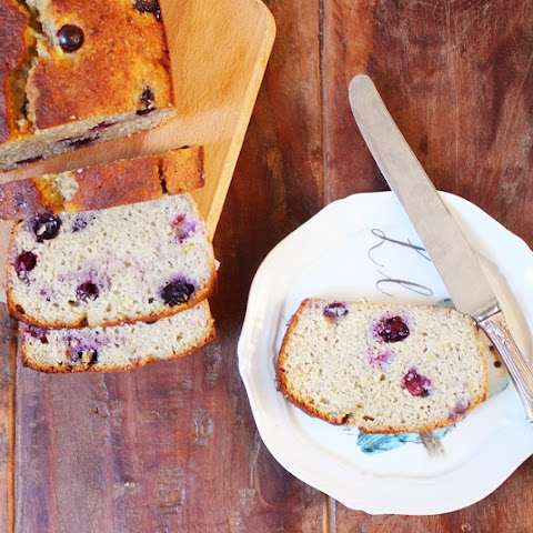 Blueberry Banana Bread (Dairy & Gluten-Free)