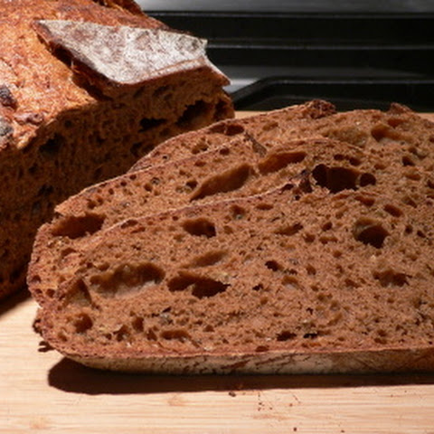 Artisan Sourdough Rye Bread