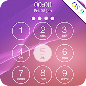lock screen keypad Icon