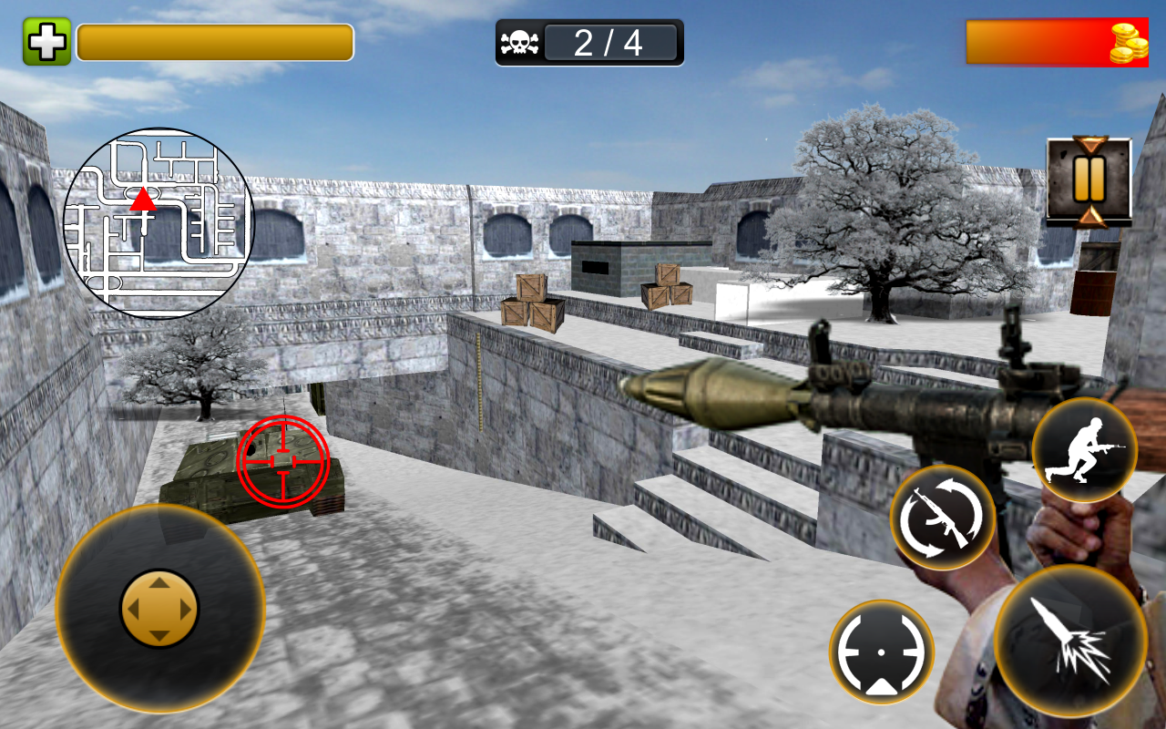 Frontline Scharfschütze Commando 3D android spiele download