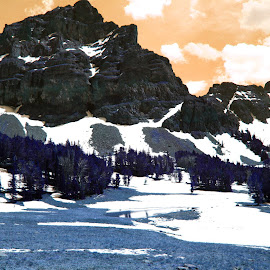 by Jophy Hey - Digital Art Places ( mountins, forest, alpine )