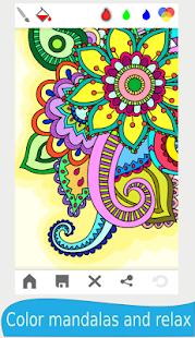Download Mandala - adults coloring book APK to PC