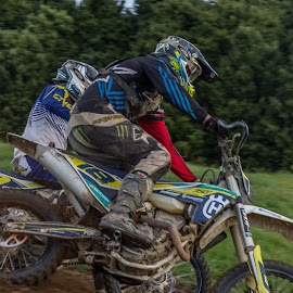 Motocross by Shirley Warner - Transportation Motorcycles ( bke, speed, wheels, motorcross, dirt, race,  )