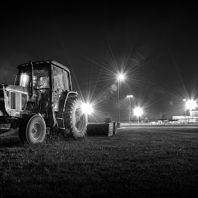 Late Night at the Ball Park by Michael  Kitchen - Transportation Other