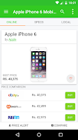 Screenshot of PriceTree- Shopping Comparison