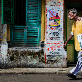 by Saumalya Ghosh - City,  Street & Park  Street Scenes