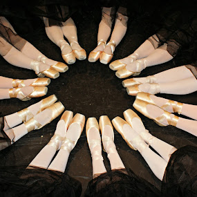 Pointe by Terri Mills - Artistic Objects Clothing & Accessories ( shoes, dancers, ballerinas, feet, ballerina, ballet, dance, pointe,  )