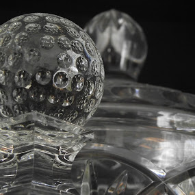 Abstract Golf by Kate Vartelas - Products & Objects Business Objects ( abstract, trophy, golf ball, clarity, crystal )