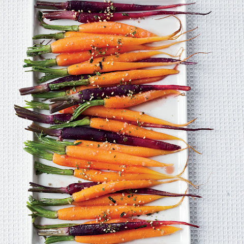 Ginger-Lime Baby Carrots