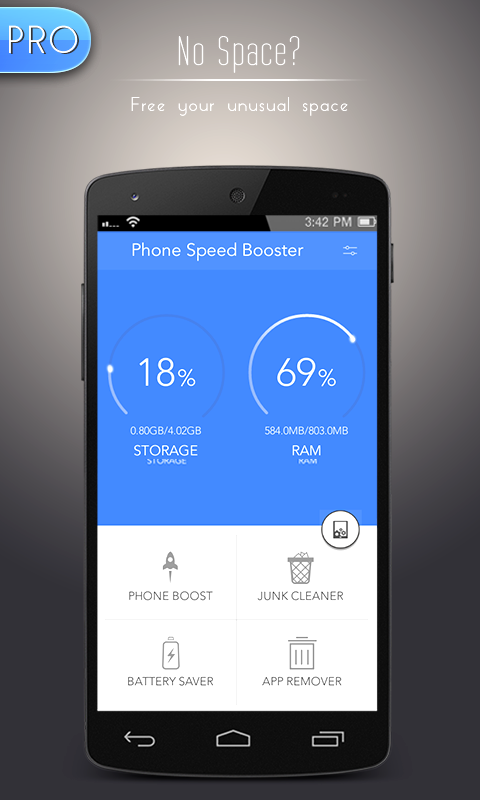 Phone Speed Booster Pro Screenshot 0