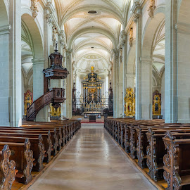 Luzern Catholic Church by Lee Davenport - Buildings & Architecture Places of Worship
