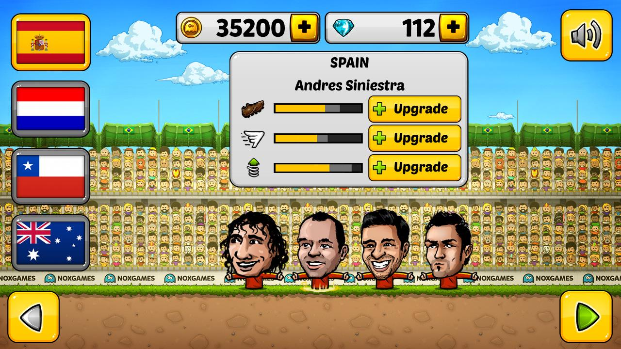 Puppet Soccer 2014 - Football Screenshot 4
