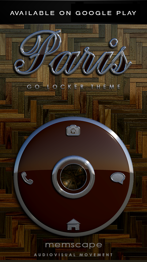 PARIS Next Launcher 3D Theme Screenshot 6