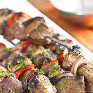 Moroccan Marinade for Beef Kebabs