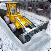 Snow Rescue Excavator Crane 3D