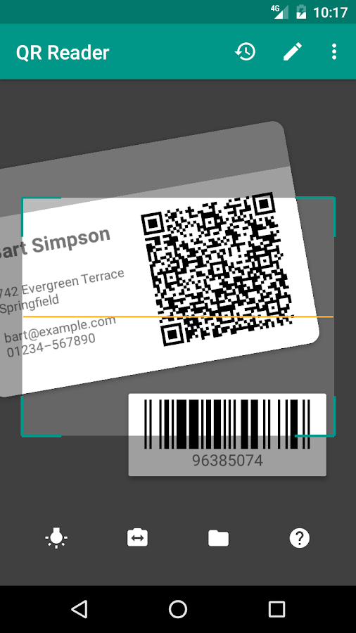 QR Reader (No Ads) Screenshot 0