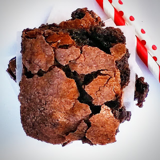 Dark Chocolate Velvet Brownies