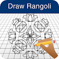 Download How to Draw Rangoli Designs APK on PC
