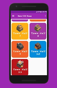 App New COC Base APK for Kindle