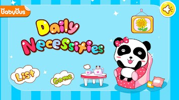 Screenshot of Daily Necessities by BabyBus