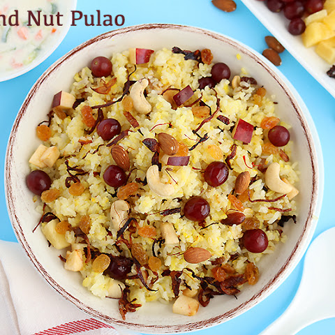 Fruit and Nut Pulao