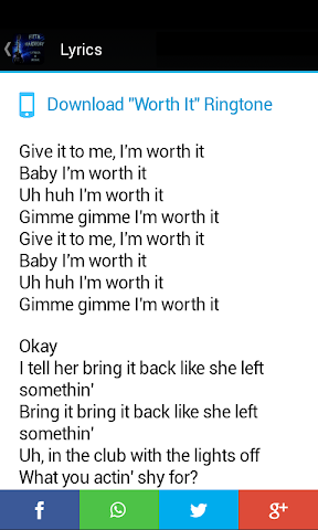 android Fifth Harmony Lyrics & Music Screenshot 1
