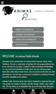 Animas Public Schools - screenshot