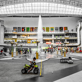 MOMENT by Faizaruddin Abdul Fattah - City,  Street & Park  City Parks ( accident, environment, moment, play, furious, 2 tone, candid, shopping, race, people, mall )