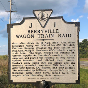 On Aug. 13, 1864, Mosby's rangers attacked the end of the Union supply train outside Berryville, Va. They captured valuable supplies, wagons, and animals that day, much to the dismay of the ...