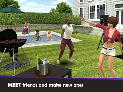 Avakin Life - 3D virtual world- screenshot thumbnail
