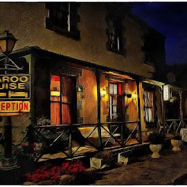 Colesberg by Night by Glenn Visser - Digital Art Places